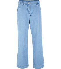 pantaloni effetto jeans  loose fit (blu) - bpc bonprix collection