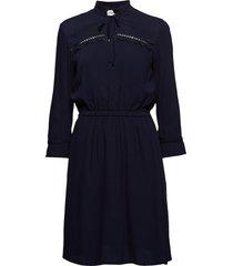 noa dress jurk knielengte blauw modström