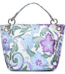 neat garden bags top handle bags paars hvisk