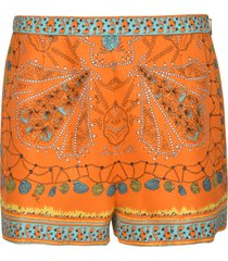 classic printed shorts