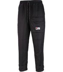 pantalón negro fila white rock confort