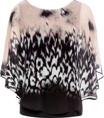 maglia con maniche a pipistrello (nero) - bodyflirt