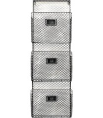 designstyles three tier wall file holder