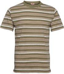 striped t-shirt héritage t-shirts short-sleeved grön armor lux