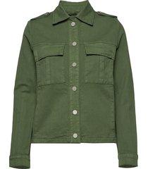 blair herringb jacket outerwear jackets utility jackets groen mos mosh