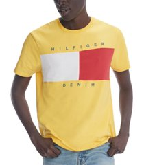 tommy hilfiger denim men's beason flag t-shirt