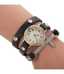 reloj negra sasmon re-18603