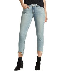 rag & bone women's dre low-rise slim boyfriend jeans - thunderbird - size 24 (0)