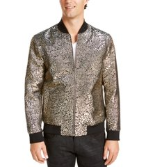 i.n.c. men's oliver party brocade bomber jacket, created for macy's