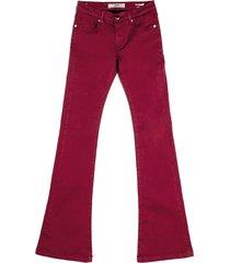 silvian h dames jeans bordeaux