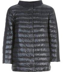 herno ultralight nylon cape shantung details