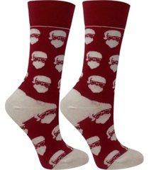 love sock company women's christmas organic cotton socks with santa design