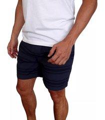 pantaloneta hurley one & only stripe volley para hombre - azul