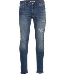 max deep blue slimmade jeans blå just junkies