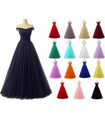 long chiffon prom dress wedding evening formal party ball gown bridesmaid custom