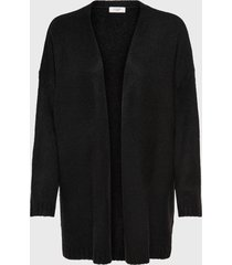 cardigan  jacqueline de yong negro - calce regular