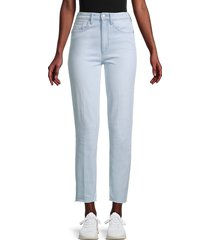 joe's jeans women's high-rise straight ankle jeans - trail - size 28 (4-6)