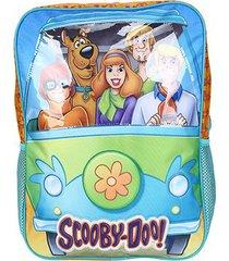 mochila escolar infantil xeryus 16 scooby-doo mystery machine