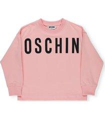 moschino loged sweatshirt