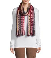 long fringe scarf