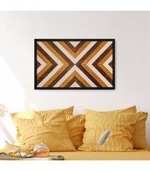 drewniany obraz mozaika -bright