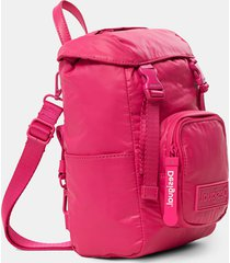 small padded backpack - red - u