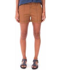shorts side walk shorts tecido caramelo - caramelo - feminino - dafiti