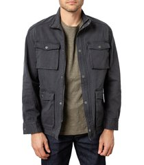 rails porter unlined field jacket, size x-large in charcoal at nordstrom