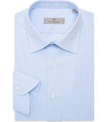 modern-fit pinstripe dress shirt