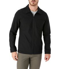 men's 7 diamonds traveler slim fit jacket, size large - black