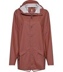jacket regnkläder brun rains