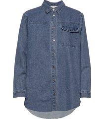 lucca denim jacket jeansjacka denimjacka blå minus
