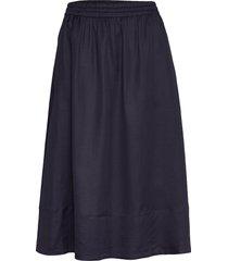 juliet skirt knälång kjol blå filippa k