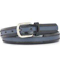 cinturón azul briganti mujer alondra
