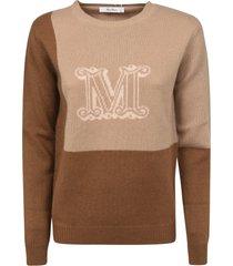 max mara logo knit sweater