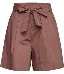 shorts shorts paper bag shorts rosa noa noa
