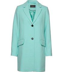 coats woven blazer colbert blauw esprit collection