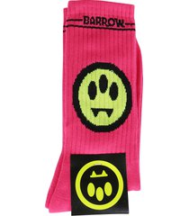 barrow fuchsia cotton socks