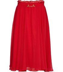moody skirt knälång kjol röd ida sjöstedt