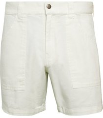 easy cotton twill shorts