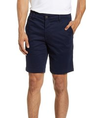 men's ag wanderer modern slim fit shorts, size 36 - blue