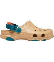 crocs classic all terrain slate tan - masculino