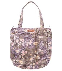 infant ju-ju-be be light diaper tote - purple