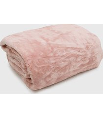 cobertor king kacyumara blanket high rose - rosa - dafiti
