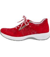 skor remonte röd