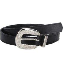 cinturón cuero variedad texturas y colores negro