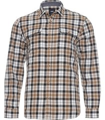 camisa masculina sycamore - bege