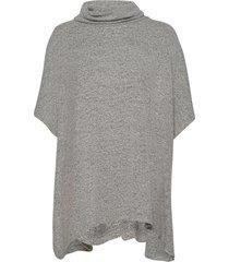 sc-biara poncho regnkläder grå soyaconcept