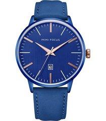 reloj análogo f0115gl-4 hombre azul
