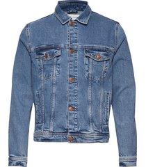 laust jacket 11354 jeansjack denimjack blauw samsøe samsøe
